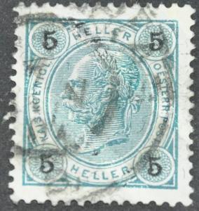 DYNAMITE Stamps: Austria Scott #89a - USED