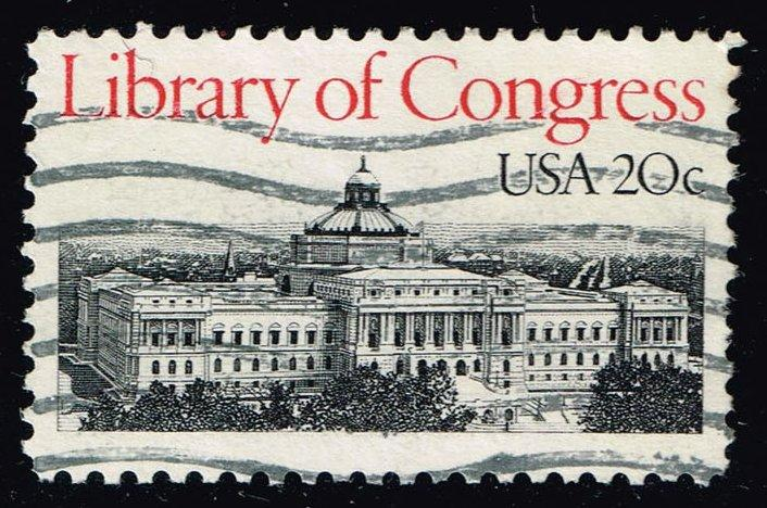 US #2004 Library of Congress; Used (0.25)