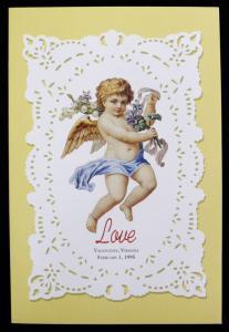 1995 LOVE STAMP FIRST DAY ISSUE DEDICATION CEREMONY PROGRAM  (ESP#N1317-42)