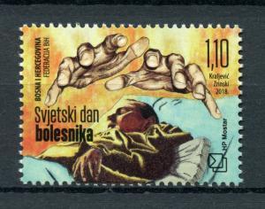 Bosnia & Herzegovina 2018 MNH World Day of Sick 1v Set Medical Health Stamps