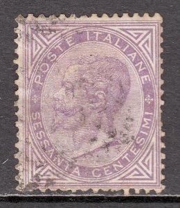Italy - Scott #32 - Used - Thin - SCV $19.00