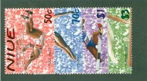 NIUE 748-51 MH CV $5.00 BIN $2.25