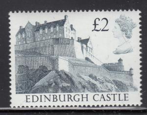 Great Britain 1988 Scott #1232 MNH Edinburgh Castle