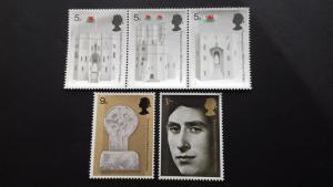 Great Britain 1969 Castles Mint