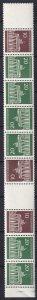 Germany #952-3 Strip Of 9 MNH CV $29.00 (K2298)