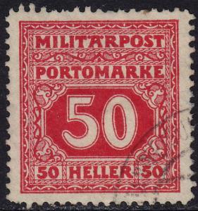 Bosnia & Herzegovina - 1916 - Scott #J24 - used