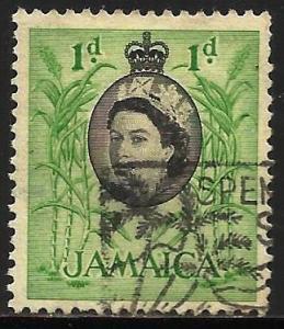 Jamaica 1956 Scott# 160 Used
