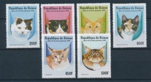 [26134] Guinea 1998  Cats MNH