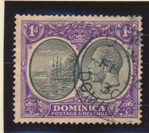 Dominica Stamp Scott #66, Used