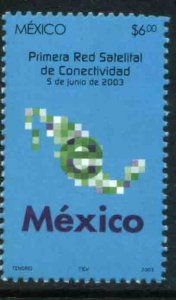 MEXICO 2316, INAUGURATION OF SATELLITE INTERNET NETWORK. MINT, NH. VF.