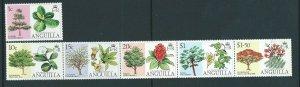 ANGUILLA SG241/6 1976 TREES MNH