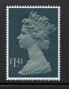 Great Britain Sc MH172 1985 £1.41 Machin Head stamp mint NH