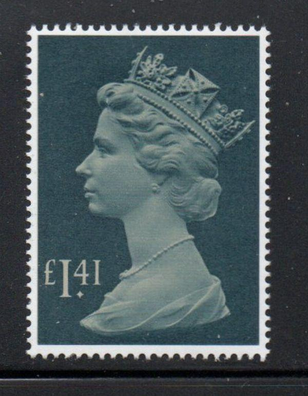 Great Britain Sc MH172 1985 £1.41 Machin Head stamp mint NH
