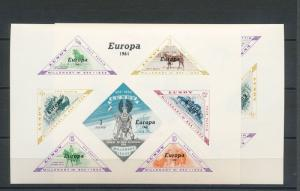 Lundy MNH S/S Europa 1961 Horses