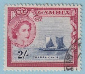 GAMBIA 162  USED - NO FAULTS EXTRA FINE !