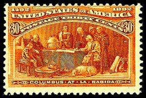 U.S. COLUMBIAN ISSUE 239  Mint (ID # 43820)