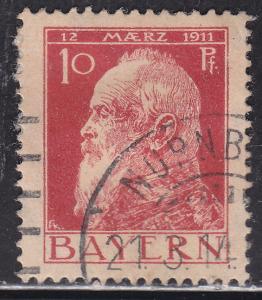 Bayern 79 Hinged 1911 Prince Regent Luitpold