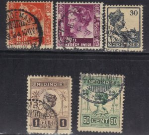 NED-INDIES USED STAMP LOT #1 SEE SCAN