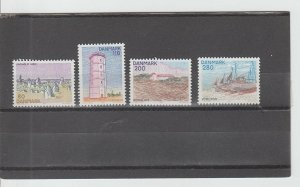 Denmark  Scott#  666-669  MNH  (1980 Landscapes)