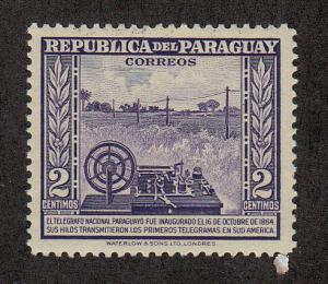 Paraguay Scott #436 MH