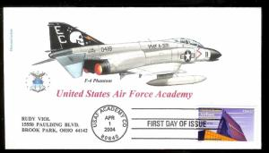 UNITED STATES FDC 37¢ Air Force Academy 2004 Therome