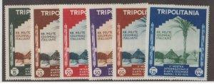 Tripolitania Scott #73-78 Stamps - Mint Set