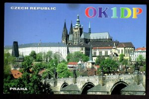 QSL QSO Radio Card OK1DP,Czech Republic,Praha,Petr Dvorak,1998, (Q3406)