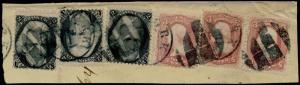 #65 & #73 USED COMBO ON A PIECE (3) EACH CV $204.00 BQ5641