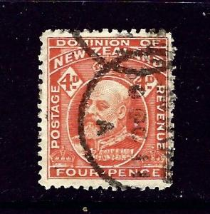 New Zealand 134 Used 1909 issue