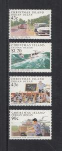 Christmas Island Scott #303-306 MNH
