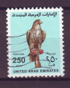 J20804 Jlstamps 1990 uae part of set used #307 falcon