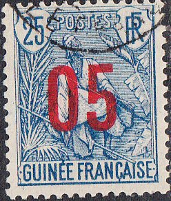 French Guinea #59 Used