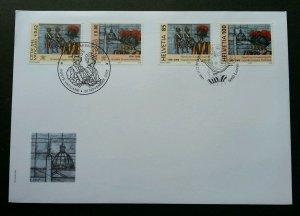 Vatican Switzerland Joint Issue 500th Anniv Of Swiss 2005 (joint FDC) *see scan