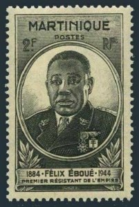 Martinique 196 block/4,MNH.Michel 203. Felix Eboue,1945.