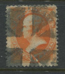 USA 1879 15 cent orange used nice cork