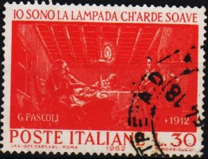 Italy. 1962 30L S.G.1070 Fine Used