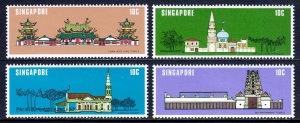 Singapore - Scott #299-302 - MH - SCV $2.80