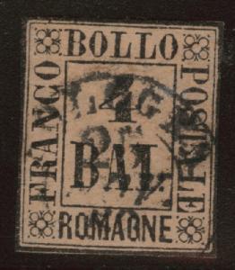 Romagna Scott 5 Used Nice Cancel 1859