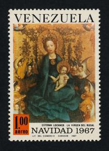 Venezuela C976 MNH Christmas, Madonna with the Rosebush