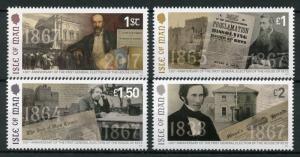 Isle of Man IOM 2017 MNH First General Election House of Keys 1867 4v Set Stamps