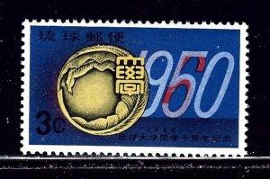 Ryukyu Is 64 MNH 1960 issue    (ap2321)