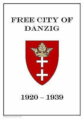 FREE CITY OF DANZIG (GDANSK, POLAND) 1920-1939