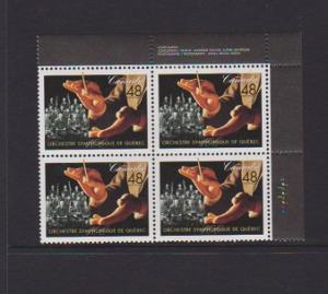 CANADA PLATE BLOCK MNH STAMPS #1968. LOT#PB501