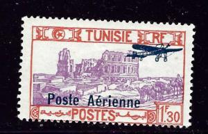 Tunisia C7 MH 1928 overprint