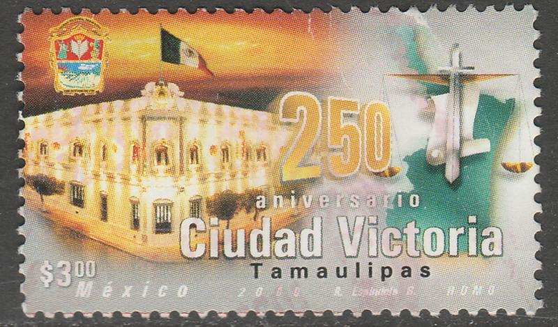 MEXICO 2207, Ciudad Victoria 250th Anniversary. USED. F-VF. (1495)