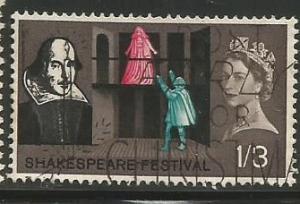 Great Britain Scott #404 Stamp - Used Single