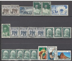 COLLECTION LOT OF # 916 AUSTRALIAN ANTARCTIC TERRITORY 13 STAMPS 1957+ CV+$22