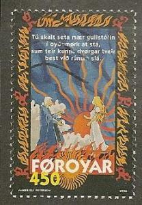 Faroes      Scott   332    Scene from Ballad    Used