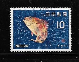 Japan #862 Used Single. No per item S/H fees