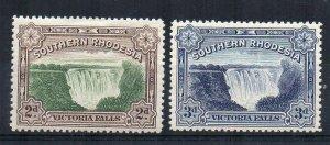 Southern Rhodesia 1932 Victoria Falls set MLH